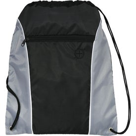 Promotional Funnel Drawstring Cinch Backpack