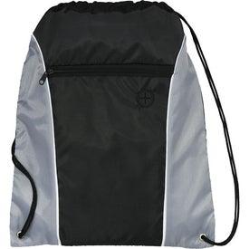 Promotional Funnel Drawstring Cinch Backpack