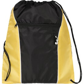 Funnel Drawstring Cinch Backpack for Your Church