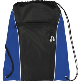 Customized Funnel Drawstring Cinch Backpack
