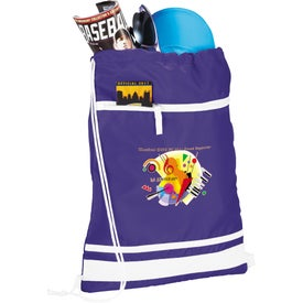 Logo Game Day Cinch Bag