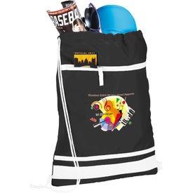 Advertising Game Day Cinch Bag
