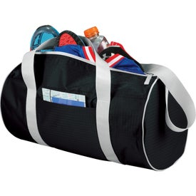 Game Day Sport Duffel Bag with Your Slogan
