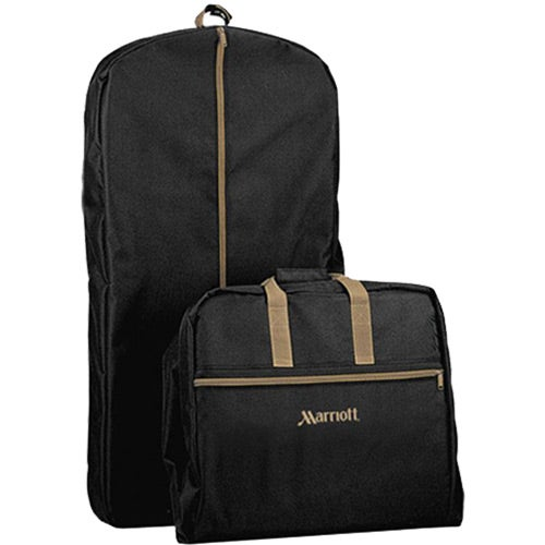 Black / Khaki Garment Bag