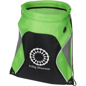 Globetrotter Drawstring Backpack for Customization