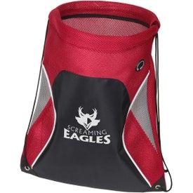 Globetrotter Drawstring Backpack for Your Organization