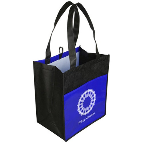 Glossy Light Shopping Bag