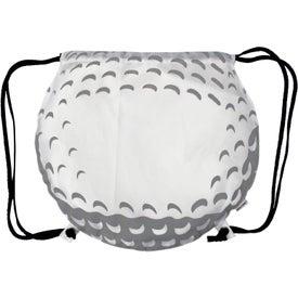Golf Ball Drawstring Backpack
