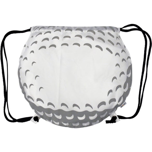 Golf Ball Drawstring Backpack