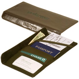 Gramercy Travel Wallet with Your Slogan