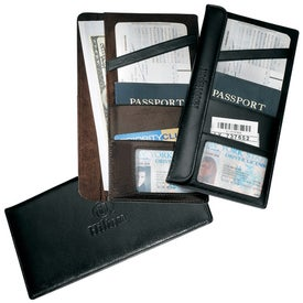 Branded Gramercy Travel Wallet