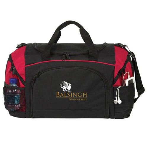 Black / Red Grand Slam Duffel
