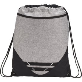 Graphite Hook Drawstring Bag
