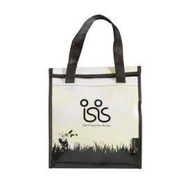 Green Grass Laminated Non Woven Inspire Lunch Bag