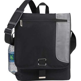 Gridlock Vertical Compu-Messenger Bag for Your Organization