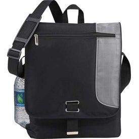 Gridlock Vertical Compu-Messenger Bag for Your Organization