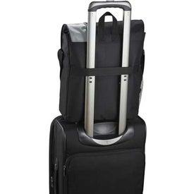 Gridlock Vertical Compu-Messenger Bag for Promotion
