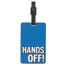 Branded Hands Off Luggage Tag