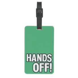 Hands Off Luggage Tag for your School