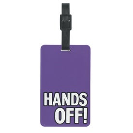 Hands Off Luggage Tag for Your Organization