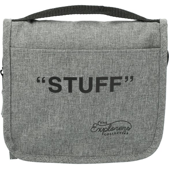 Graphite Heather Dopp Kit