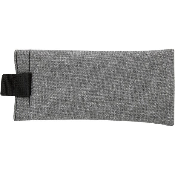 Gray / Black Heathered Eyeglass Pouch