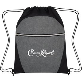 Heathered Two-Tone Drawstring Sports Pack