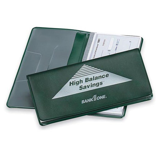 Heat Sealed Checkbook Cover