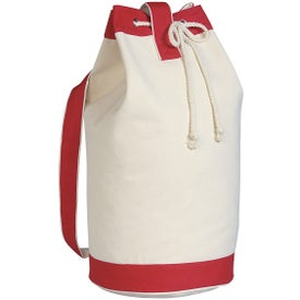 Heavy Canvas Cotton Boat Tote Bag Printed with Your Logo