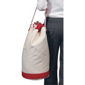 Personalized Heavy Canvas Cotton Boat Tote Bag