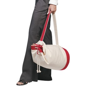 Heavy Canvas Cotton Boat Tote Bag Imprinted with Your Logo