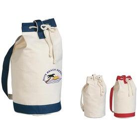 Custom Heavy Canvas Cotton Boat Tote Bag