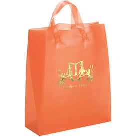 Hercules Frosted Brite Shopper Bag with Your Logo