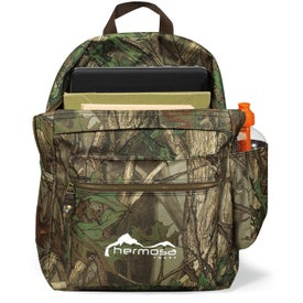 Heritage Supply Camo Computer Backpack Branded with Your Logo