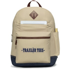 Heritage Supply Computer Backpack Branded with Your Logo
