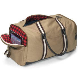 Heritage Supply Duffel Bag with Your Slogan