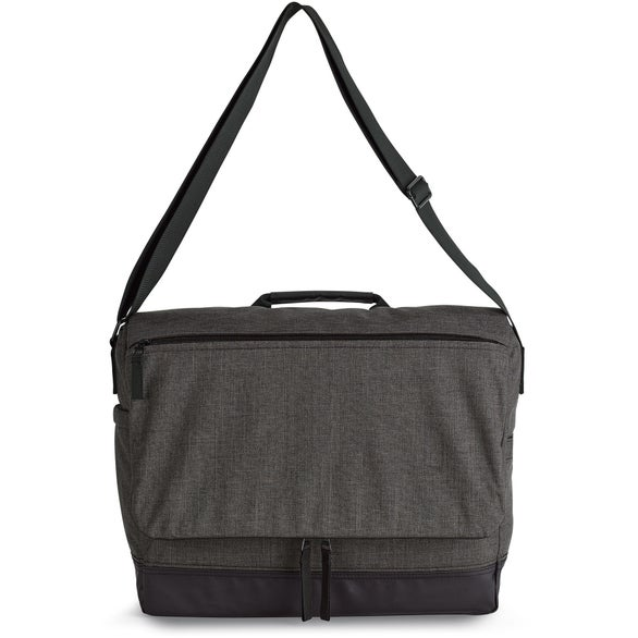 Charcoal Heather Heritage Supply Tanner Computer Messenger Bag