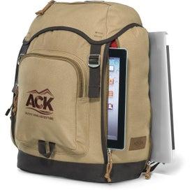 Branded Heritage Supply Trek Computer Backpack