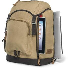 Logo Heritage Supply Trek Computer Backpack