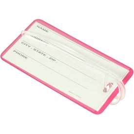 Hi Flyer Luggage Tag with Your Slogan