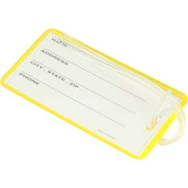 Hi Flyer Luggage Tag Imprinted with Your Logo