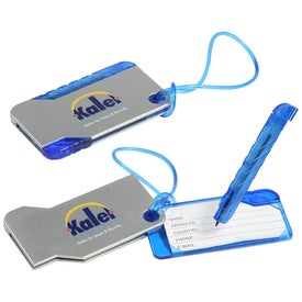 Hideaway Luggage Tag And Pens