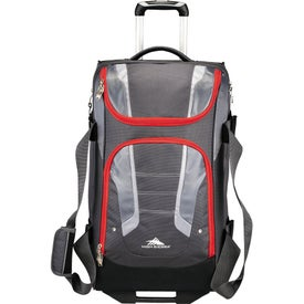 "High Sierra AT3.5 26"" Wheeled Duffel Bag for Promotion"
