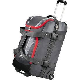 "High Sierra AT3.5 26"" Wheeled Duffel Bag Branded with Your Logo"