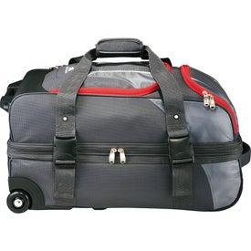 "Printed High Sierra AT3.5 26"" Wheeled Duffel Bag"