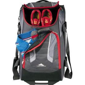 "High Sierra AT3.5 26"" Wheeled Duffel Bag for Marketing"