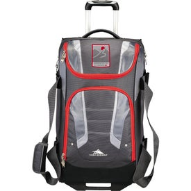 "High Sierra AT3.5 26"" Wheeled Duffel Bag with Your Logo"