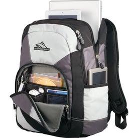 Monogrammed High Sierra Berserk Compu-Backpack