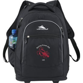 High Sierra Chaser Wheeled Compu-Backpack Printed with Your Logo