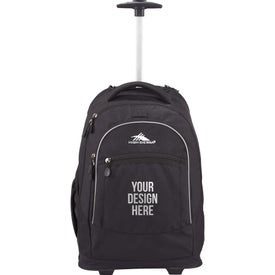 Advertising High Sierra Chaser Wheeled Compu-Backpack
